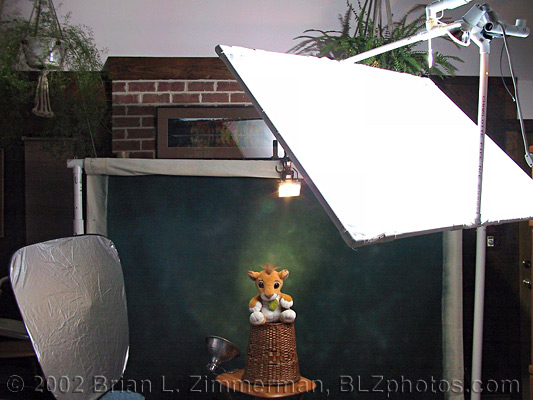 Studio lighting home made cheap diy backdrop stand diy for Eclairage stand