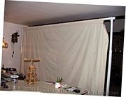 Studio Lighting - Home Made Cheap DIY Backdrop Stand