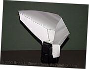 Studio Lighting - DIY Homemade Flash Mini-Bouncer
