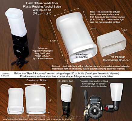DIY Homemade Flash Diffuser #5