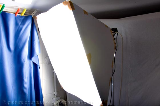 home made flash softbox