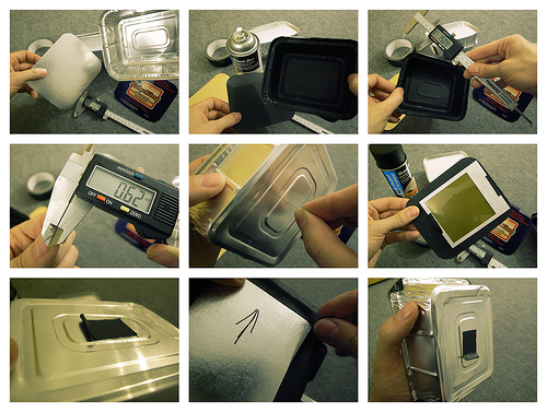 let's make a pinhole polaroid camera!