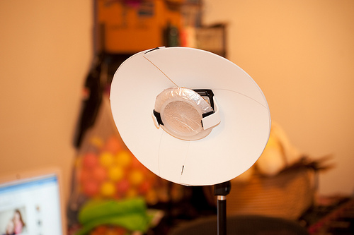 Poor Man's Beauty Dish (by Brannon E.)