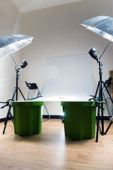 DIY studio light table. (by Pieter Baert)