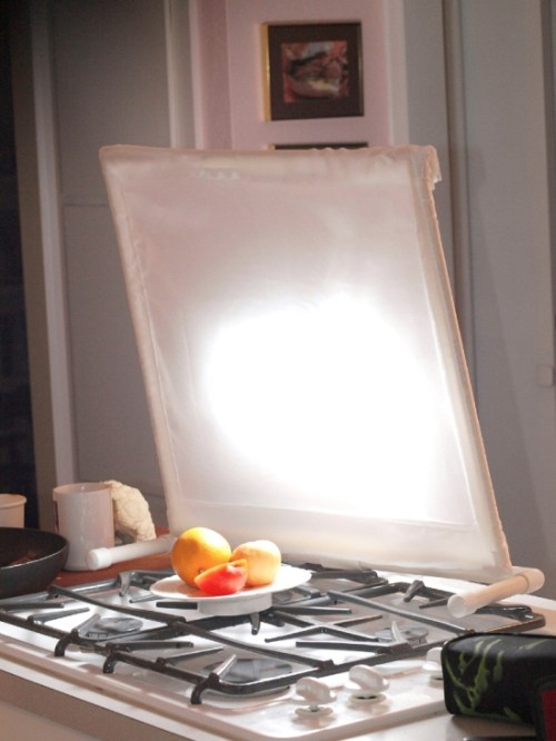 Create Good Lighting Around Any Plate Of Food