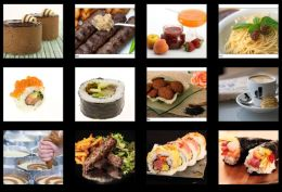 Wix food Gallery
