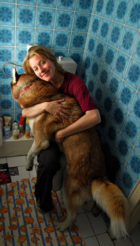 Bathroom Love From the Big Boy!