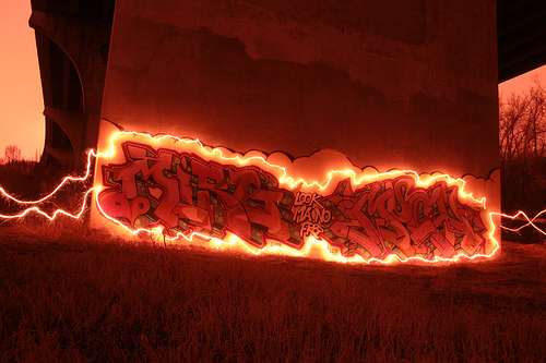 Create Great Light Painting Imagery Using Fireworks