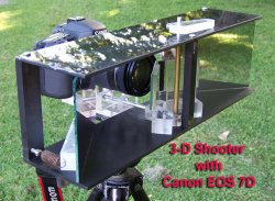 Shoot 3D with a Single Camera and Lens