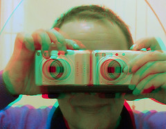 Self Portrait in anaglyph 3D (by 3dstereopics)