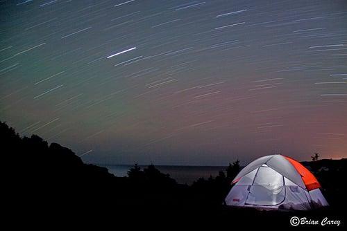 Roaring Stars at Flamber Head (by Brian P Carey)