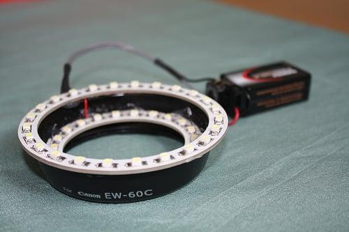 DSLR Hack - How to Make DSLR Camera Ring Flash!