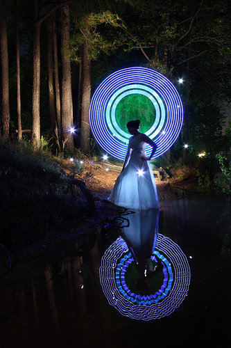 Make Light Painting Circles With Light