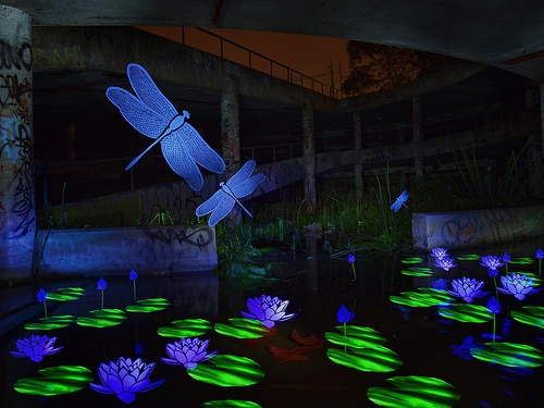 Use Light Stencils To Create Amazing Light Paintings