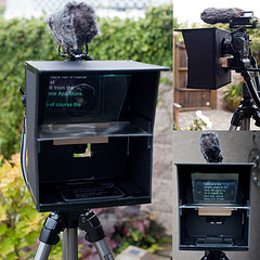 DIY iPhone Teleprompter