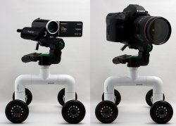 DIY PVC Table/Skater Dolly For Video Photography