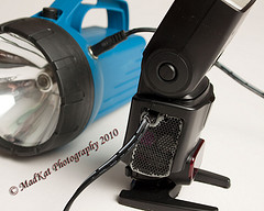 Power Yout Flash Lights With A Flashlight