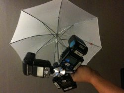Three Flashes Mount Will Triple You Light
