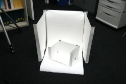 Light Tent And Paper Binder - Refolded
