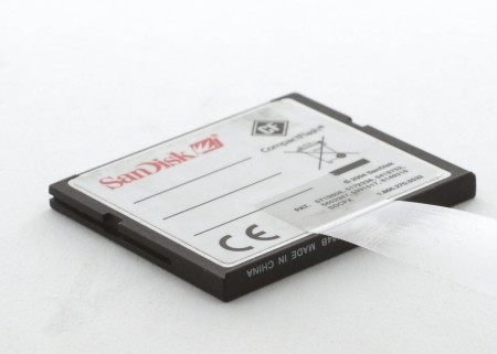 Getting a Handle on Your CompactFlash Cards