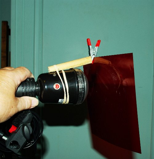 A DIY Clip Gel Holder