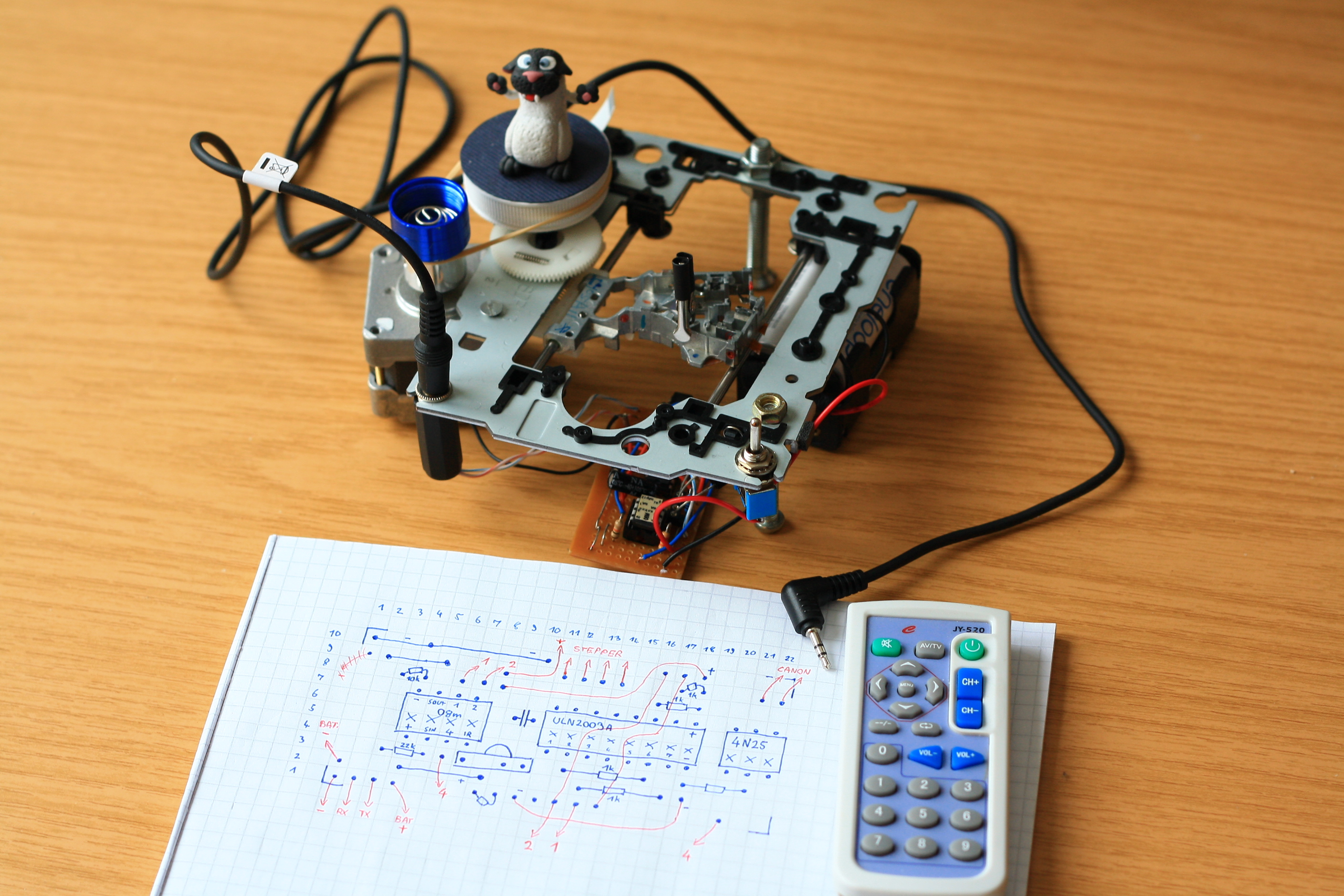 Create An Automated Macro Rail For Image Stacking - DIY ...