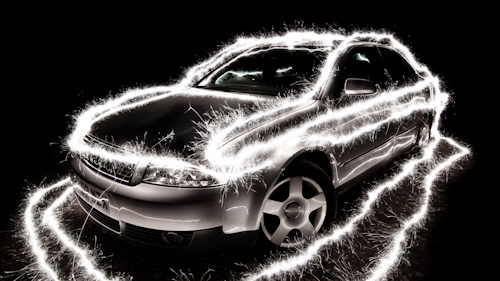 Create Amazing Sparkles Car Light Paintings