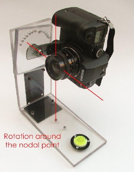 Homemade Camera Panoramic Head