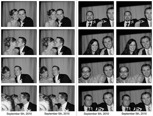 DIY Portable Wedding Photo Booth