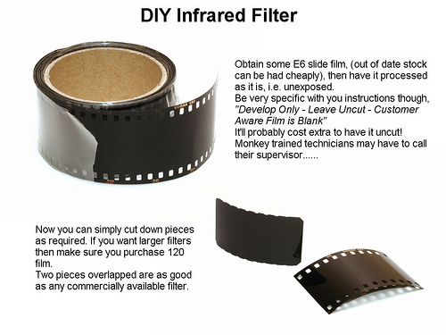 DIY Infrared Filter