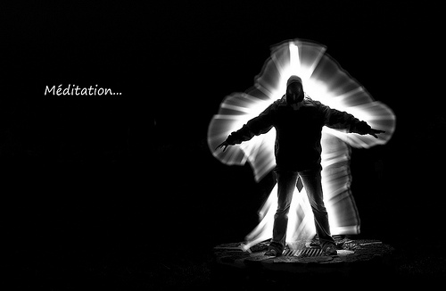 Give People An Aura Using Light Painting