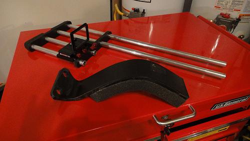 shoulder bent with foam pad