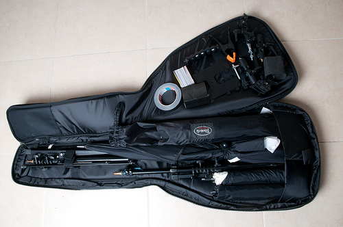 My New Lighting Bag - YAY! Goodies!