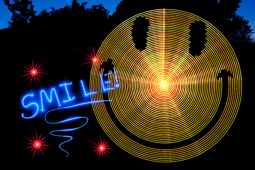 The Digital Light Wand Creates Light Painting In Thin Air