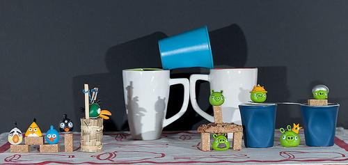 Angry Birds: invasion dans la cuisine