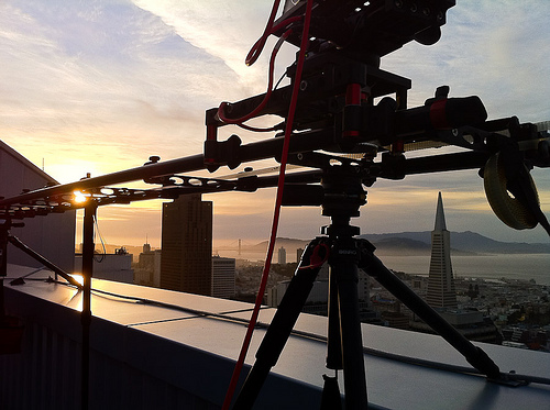 Amazing SF Moving Time Lapse Taken In 3D