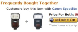 Amazon Loves Canon Better?