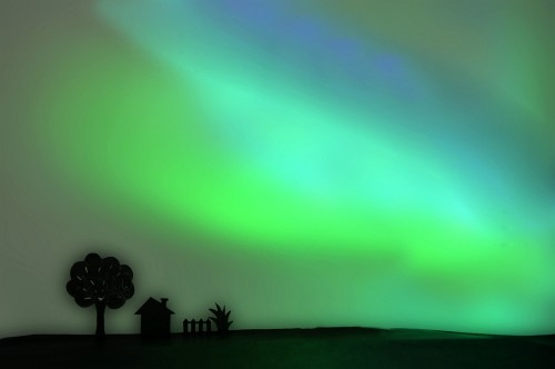 How To recreate The Aurora With Paper And LEDs