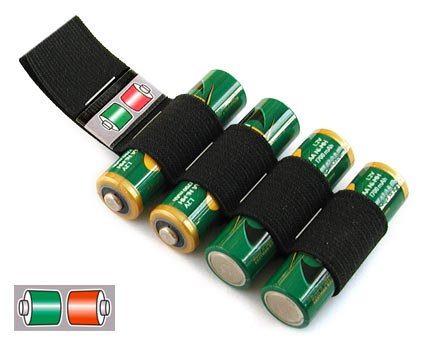 Porta batterie fai da te