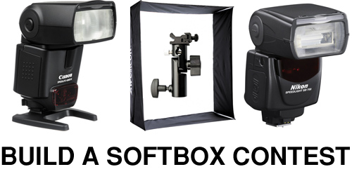 Win A Strobe And Sotbox Set By Building A Softbox