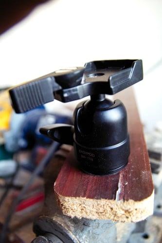 A Shotgun Camera Tripod - Mounting A Camera Next To The Driver's Sit