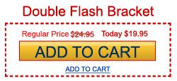 DIY Double Flash Bracket