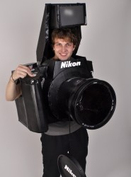 Best Costume Ever - A Fully Functional Nikon Camera