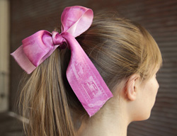 Give Your Hair Some Photo Love With A Photo-printed Hair Ribbon