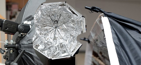DIY 39'' Umbrella Soft Box for less than $30