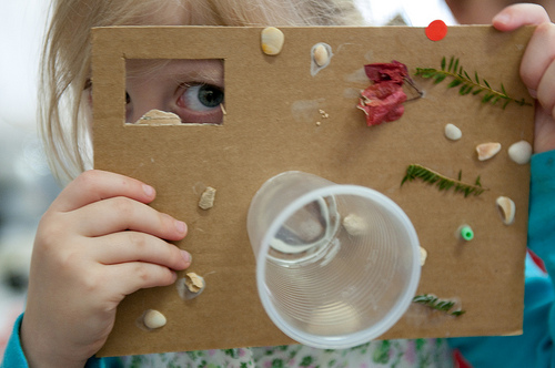 DIY Camera From Kindergarten Photo Day