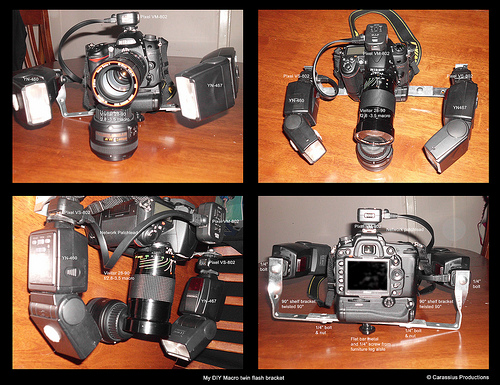 Twin Macro Flash Rig