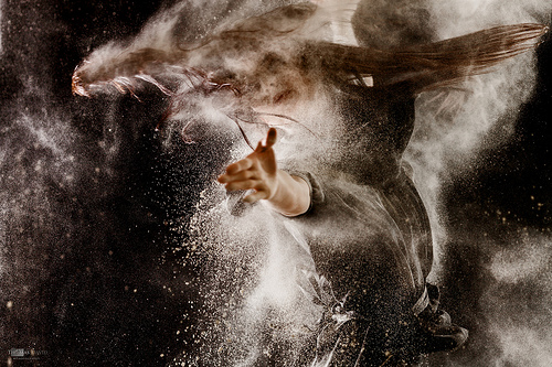 Dust and Dance - Using Powder As a Creative Tool