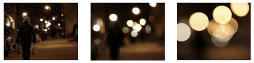 bokeh test - racking out of focus