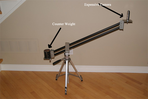 Build A Jib From 5 Pieces of Scrap